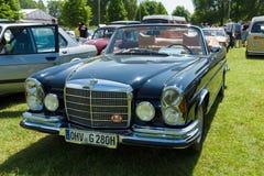 Full-size luxury car Mercedes-Benz 300 SE Cabriolet (W112) Stock Photos