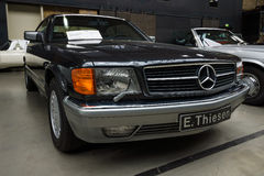 Full-size luxury car Mercedes-Benz 560 SEC (C126), 1991 Royalty Free Stock Image