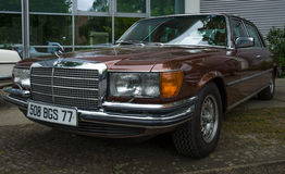 Full-size luxury car Mercedes-Benz 450SEL (W116) Stock Photo