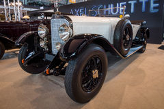Full-size luxury car Mercedes-Benz Typ 630K Supercharged Short-Chassis, 1926. Stock Photo