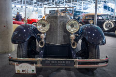 Full-size luxury car Mercedes 24/100/140 PS, 1925 Royalty Free Stock Photos