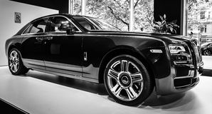Full-size luxury car Rolls-Royce Ghost (since 2010). Royalty Free Stock Image