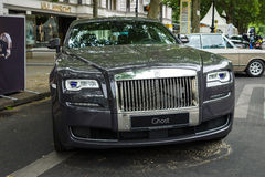 Full-size luxury car Rolls-Royce Ghost (since 2010) Stock Photos