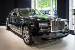 Full-size luxury car Rolls-Royce Phantom Series II (since 2012). Royalty Free Stock Image