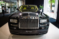 Full-size luxury car Rolls-Royce Phantom Series II (since 2012). Royalty Free Stock Photo
