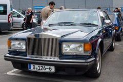 Full-size luxury car Rolls-Royce Silver Spirit Stock Photo