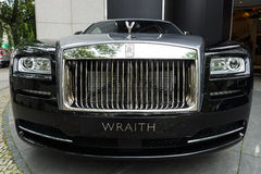 Full-size luxury car Rolls-Royce Wraith (since 2013). Royalty Free Stock Images