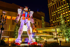 Full-size Mobile suit Gundam in Odaiba, Tokyo Stock Photography