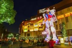 Full-size Mobile suit Gundam in Odaiba, Tokyo Stock Image