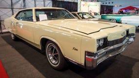 Full-size personal luxury car Mercury Marauder X-100, 1969. Stock Photography