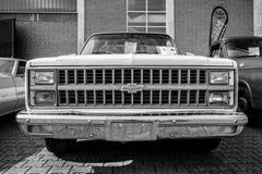 Full-size pickup truck Chevrolet C-10, 1981. Royalty Free Stock Photo