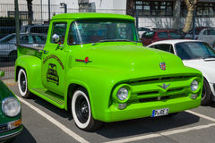 Full-size pickup truck Ford F-100 Royalty Free Stock Photo