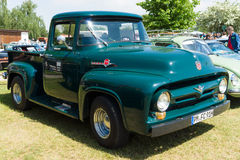 Full-size pickup truck Ford F100 (second generation) Royalty Free Stock Image