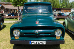 Full-size pickup truck Ford F100 (second generation) Stock Photos
