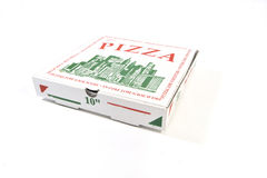 Full Size Pizza box Stock Photography