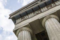 Parthenon,Nashville. A full size replica of Parthenon located in Nashville TN, USA stock photo
