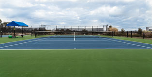 Full Size Tennis Court Royalty Free Stock Photography