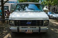 Full-size van Chevrolet Van ( Tercer generation) Imágenes de archivo libres de regalías