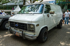 Full-size van Chevrolet Van ( Terzo generation) fotografia stock