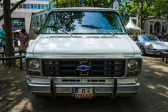 Full-size van Chevrolet Van ( Terzo generation) Immagini Stock Libere da Diritti