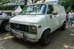 Full-size van Chevrolet Van (Third generation). Stock Photography