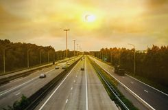 Full solar eclipse . Solar eclipse . Solar eclipse . Light from sky . Religion background . Total solar eclipse with visible corona stock image