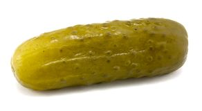 Full Sour Pickle stock photo