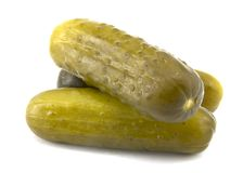Full Sour Pickles Stock Photo