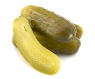 Full Sour Pickles Royalty Free Stock Image