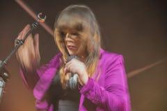 Full speed on beth hart, notodden blues festival 2013, beth hart Stock Photography