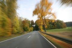 full speed traveling Στοκ φωτογραφίες με δικαίωμα ελεύθερης χρήσης