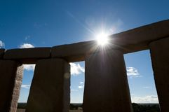 Full Stonehenge Replica Stock Image