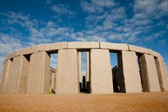Full Stonehenge Replica. Esperance - Australia stock image