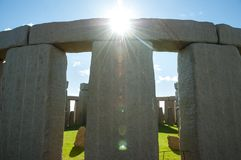 Full Stonehenge Replica Royalty Free Stock Image