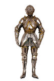 Full suit of armour. Isolated full suit of armour stock photos