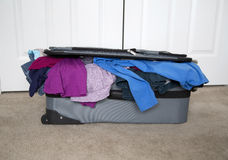 Full suitcase Stock Images