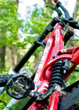 Full suspension bike Stock Photography