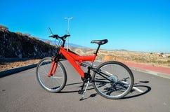 Full Suspension Mountain Bike Royalty Free Stock Photo