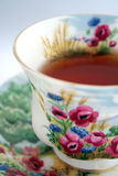 Full Tea Cup Stock Photo