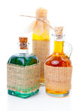 A full three bottle Royalty Free Stock Photos