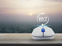 Full time service concept Royalty Free Stock Images