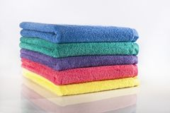 Full Towels Stock Photography