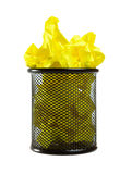 Full trash can Stock Images