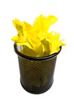 Full trash can Royalty Free Stock Photography