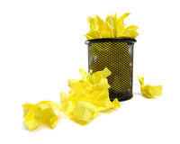 Full trash can Royalty Free Stock Image