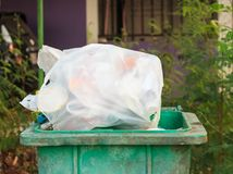 Full of trash Royalty Free Stock Images