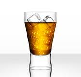 Full vector beer glass Stock Photos