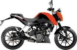Full_vector de sport d'aventure de moto Photographie stock