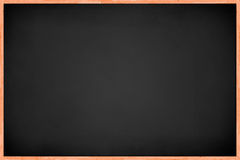 Full View of Black Board Stock Image
