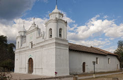 Cathedral in Ojojona, Honduras. Royalty Free Stock Photography